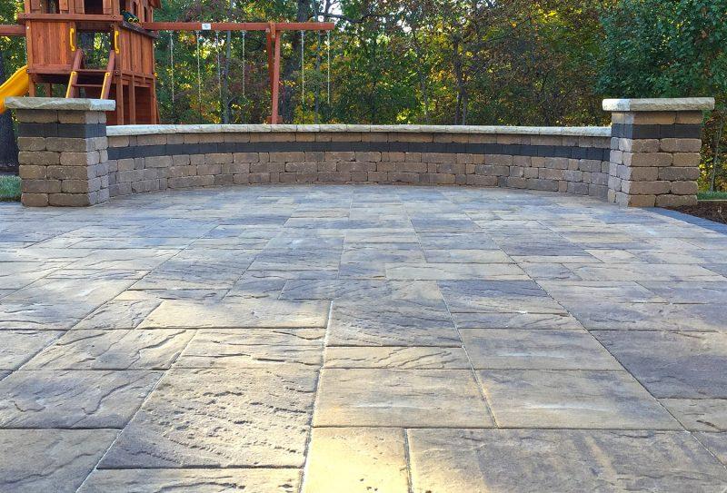 stlouis paver patio landscaping